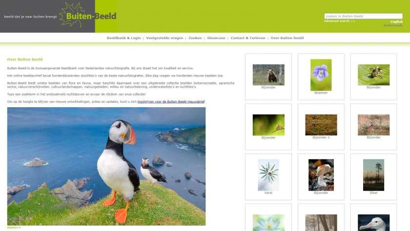 Nederlandse beeldbanken Buiten-Beeld natuurfoto's