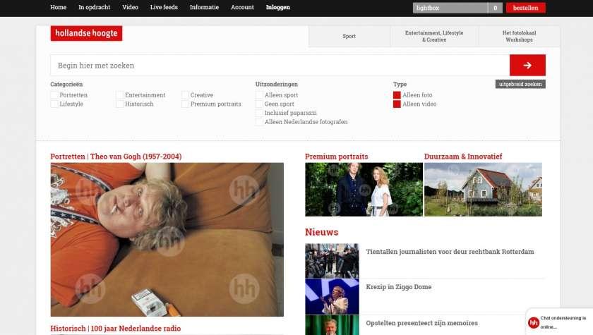 Nederlandse beeldbanken Hollandse Hoogte afbeeldingen
