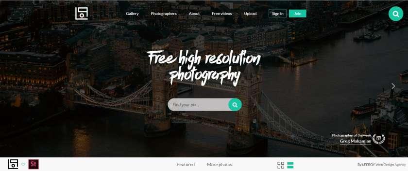 Life of pix screenshot website