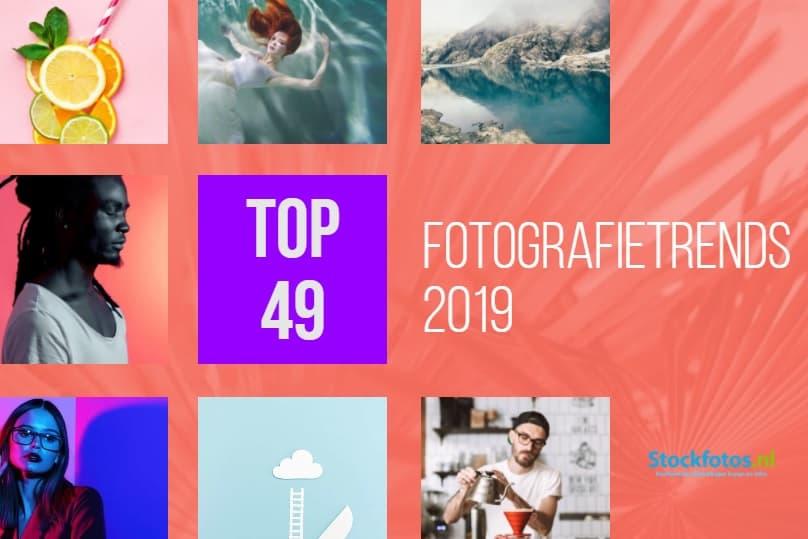 Fotografietrends 2019: 49 populaire visuele trends! 1