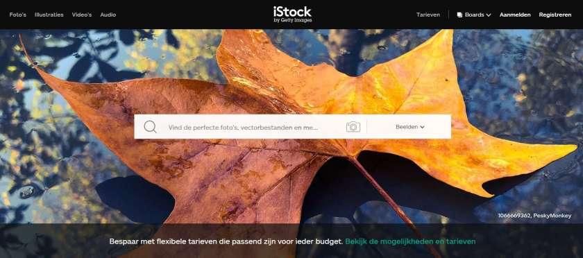 iStock afbeeldingen