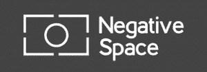 Negative Space logo - grote afbeeldingen