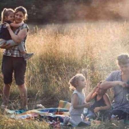 picknick met de kinderen
