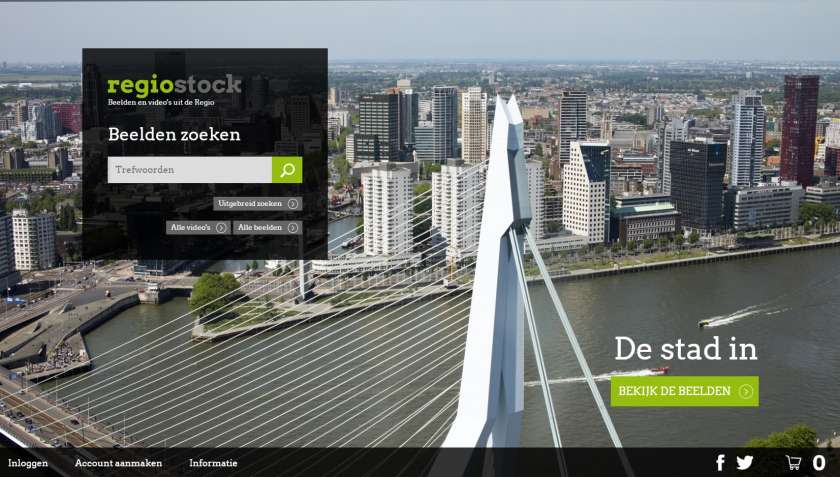 Regiostock website screenshot