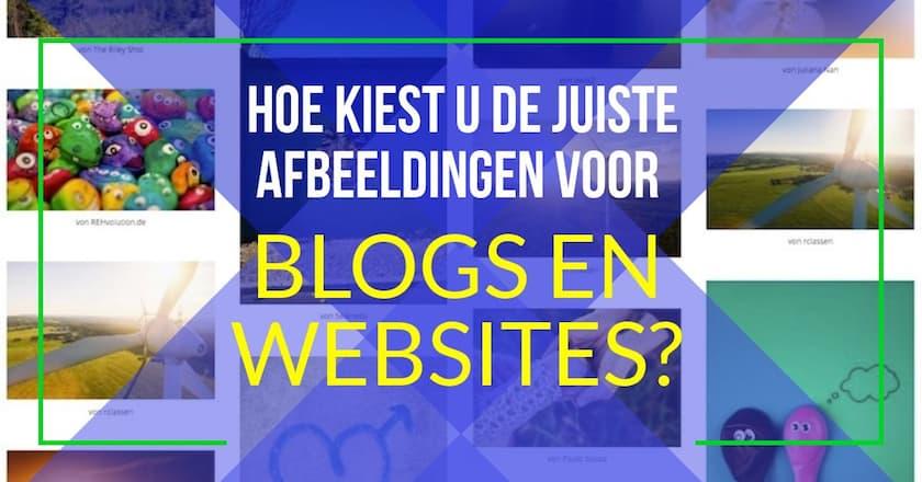Hoe kiest u de juiste afbeeldingen voor blogs en websites? 1