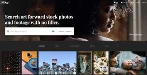 Stocksy screenshot website