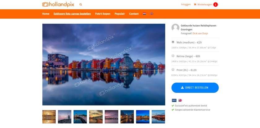 Nederlandse beeldbanken Hollandpix