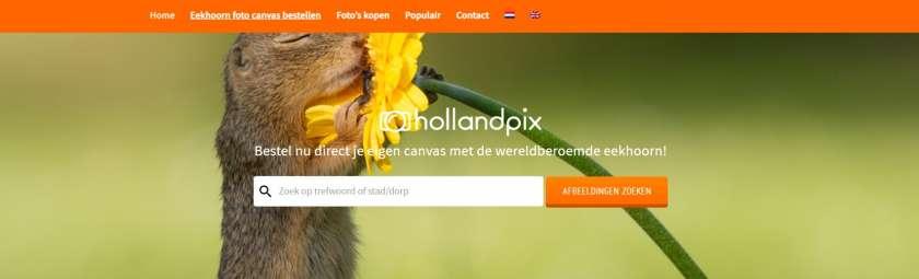 Hollandpix website