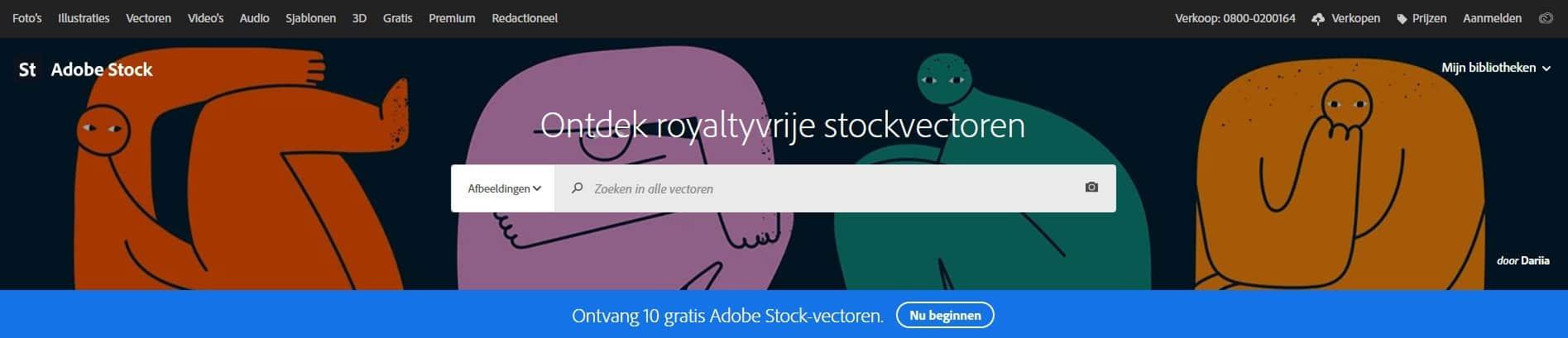 Adobe Stock vectoren