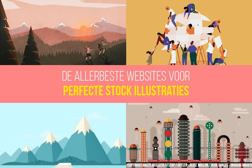 De 6 beste websites voor perfecte stockillustraties! 1