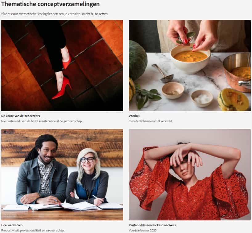Premium collectie Adobe Stock