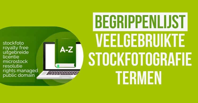 Veelgebruikte stockfotografie termen - begrippenlijst 1