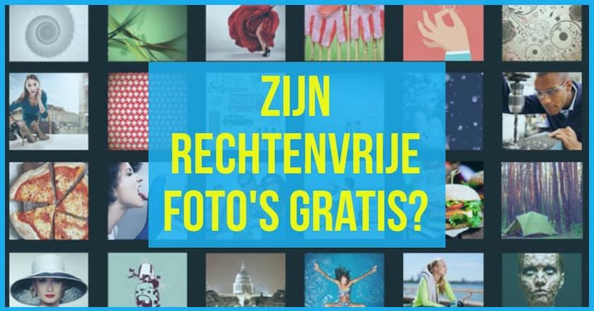 Zijn rechtenvrije afbeeldingen gratis? 1