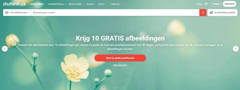 Shutterstock proefabonnement
