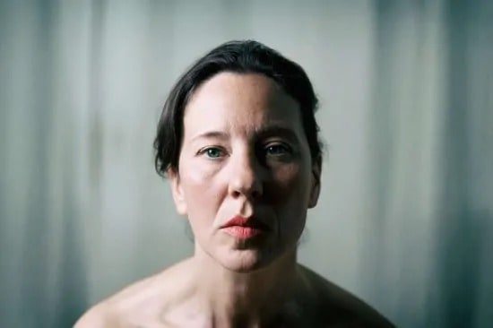 Portret van vrouw op middelbare leeftijd