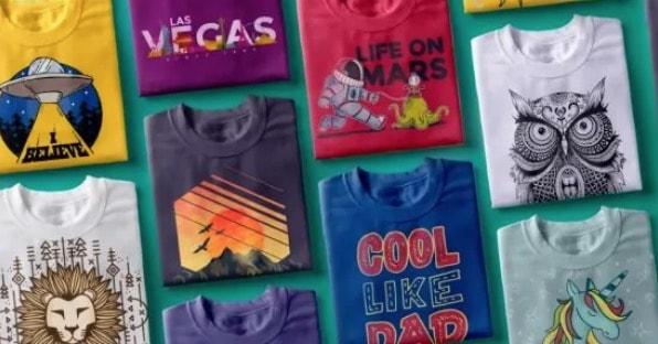 vector van vexels voor het bedrukken van t-shirts
