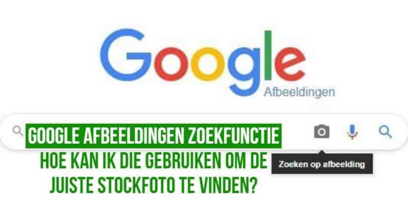 Hoe met de Google Afbeeldingen zoekfunctie foto's vinden? 1