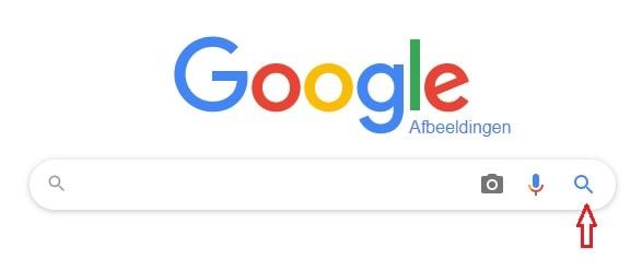 Google Afbeeldingen zoekfunctie