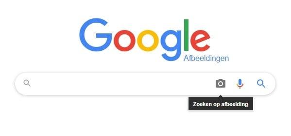 Google zoeken op afbeelding