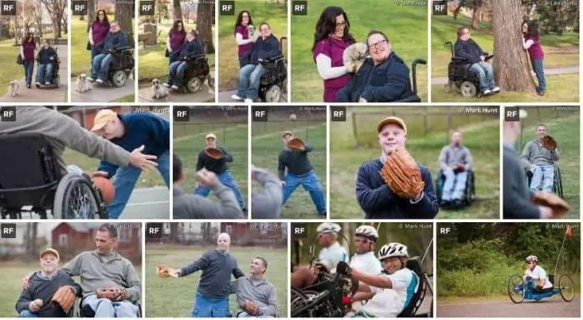 Disabilityimages website screenshot