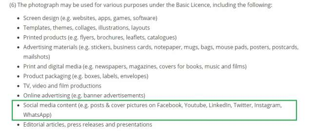 Photocase licentieovereenkomst