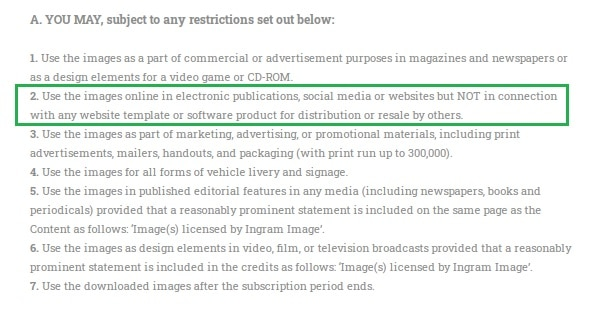 StockPhotoSecrets licentieovereenkomst