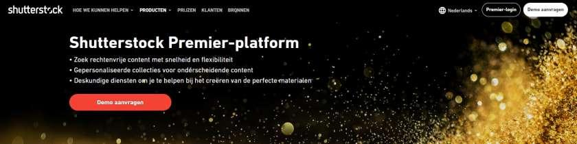 Alles wat u moet weten over het Shutterstock Premier Platform 1