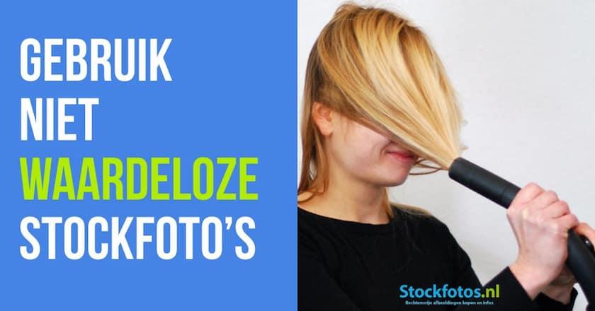 Marketing Pro-Tip: Gebruik niet waardeloze stockfoto's 1