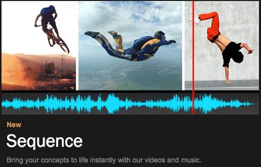 Shutterstock Sequence online videobewerking