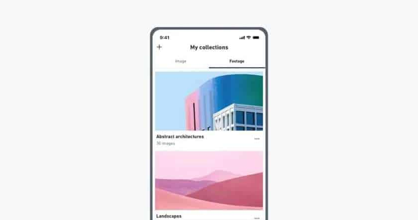 Shutterstock Video-app