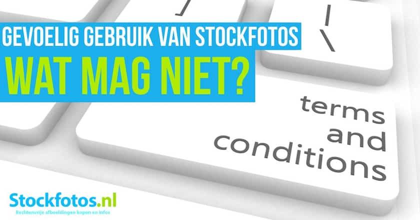 Gevoelig gebruik van stockfoto's - Wat zijn de regels? 1