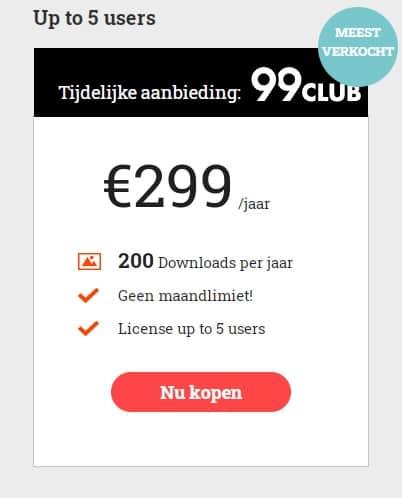 299club multi-user abonnement