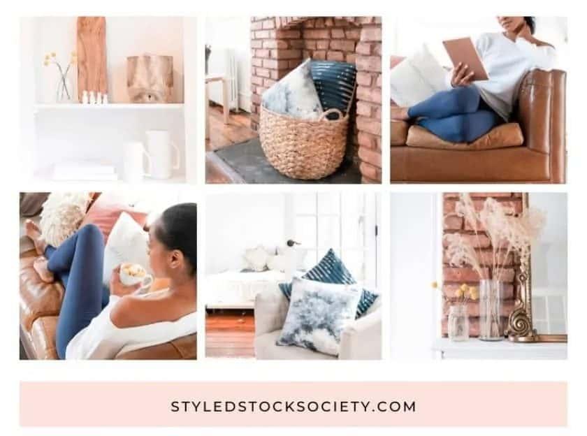 Styled Stock Society gestileerde beelden