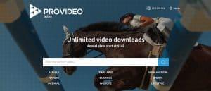Provideo Factory screenshot website