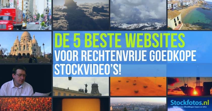 De 5 beste websites voor rechtenvrije goedkope stockvideo's! 1