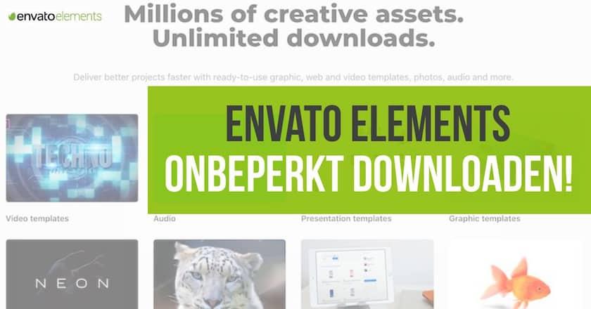 Envato Elements recensie: Onbeperkt downloaden voor ontwerpers! 1