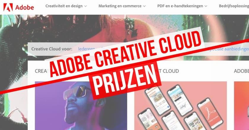 Adobe Creative Cloud prijzen: Koop nu uw Creative Cloud-plan! 1