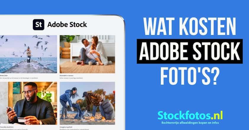 Wat kosten Adobe Stock foto's? - Lees hier het antwoord. 1