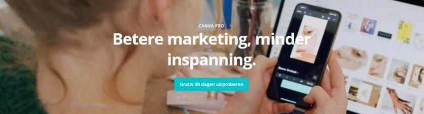www.canva.com/nl_nl homepage