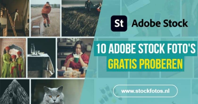 Adobe Stock foto's gratis proberen