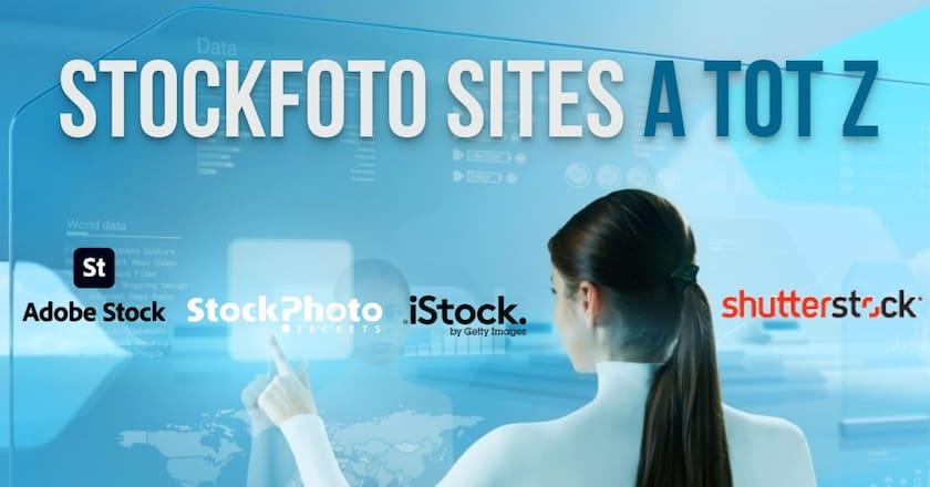 Stockfoto sites A tot Z - Alle belangrijke beeldbanken! 1