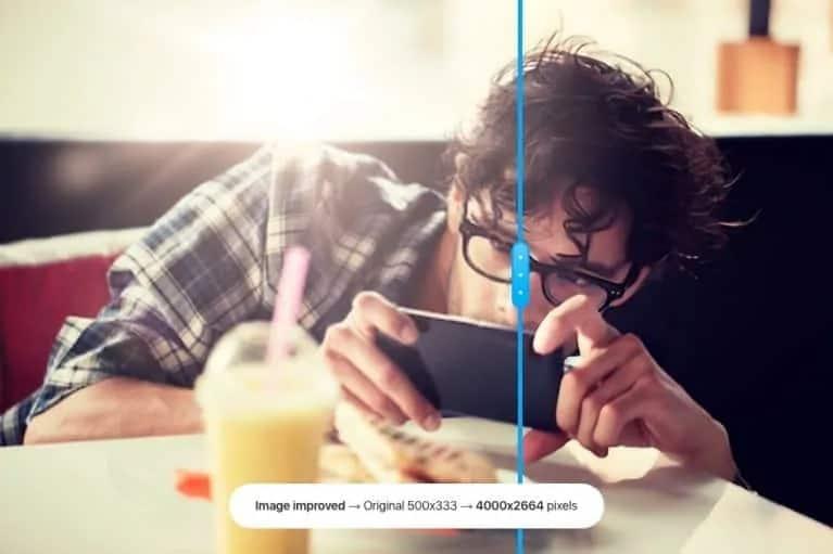Stockphotos.com beeld upscaler voorbeeld