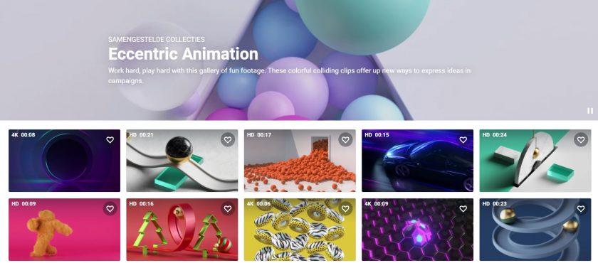 Shutterstock eccentric animation