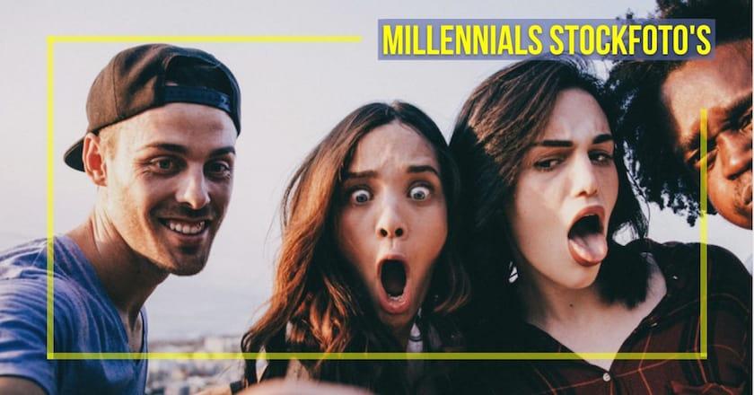 8 visuele tips voor Millennials stockfoto's 1