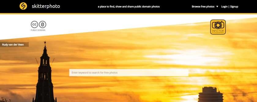 Skitterphoto website