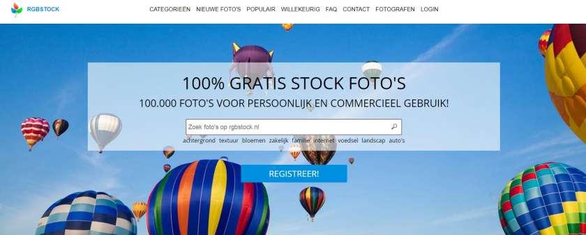 Rgbstock website screenshot
