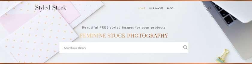 Styled Stock website