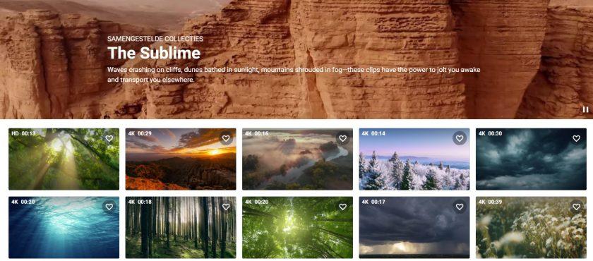 Shutterstock subliem video's