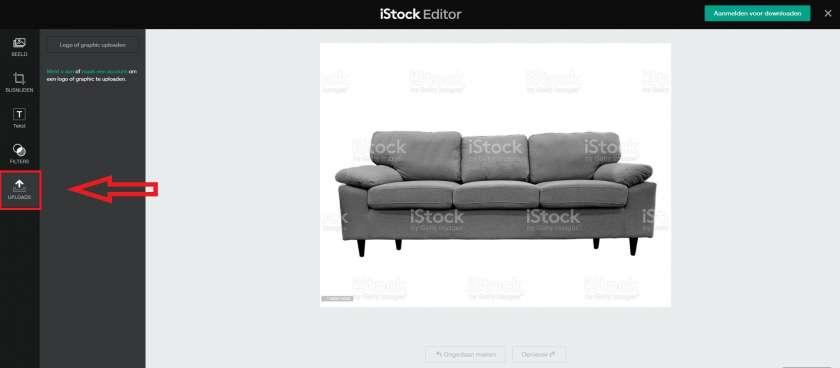 iStock uploaden
