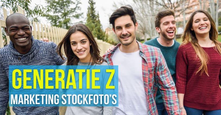 6 tactieken voor Generatie Z marketing stockfoto's 1